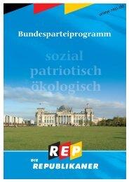 Das Parteiprogramm als pdf-Dokument ... - Die Republikaner