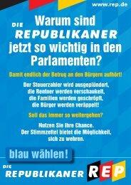 Wahlprogramm zur LTW 2008