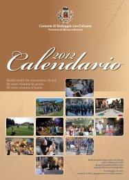 Scarica il Calendario 2012 in formato .pdf - Comune di Veduggio ...