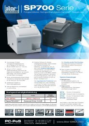 Datenblatt SP700