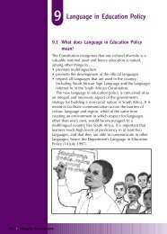 Language in Education Policy - Curriculum Development