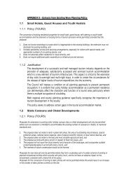 APPENDIX 8 – Extracts from Existing Wyre Planning Policy