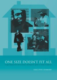 FLAC's One Size Doesn't Fit All Report & Executive Summary