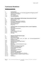 Technische Richtlinien - und Veranstaltungsgesellschaft Magdeburg ...
