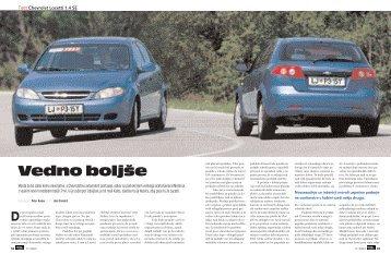 Vedno boljše - Avto Magazin