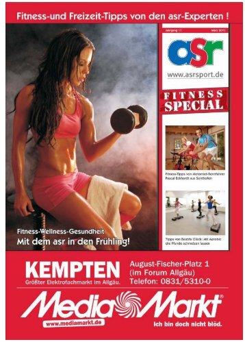 ASR Sport Fitness Ausgabe 2011 - Allgäu Sport Report