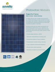 Photovoltaic Modules - SkyFire Energy