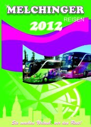 2012 - Melchinger Reisen