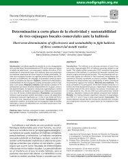 Determinación a corto plazo de la efectividad y ... -  edigraphic.com