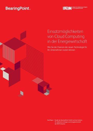 Cloud Computing wird der - BearingPoint ToolBox