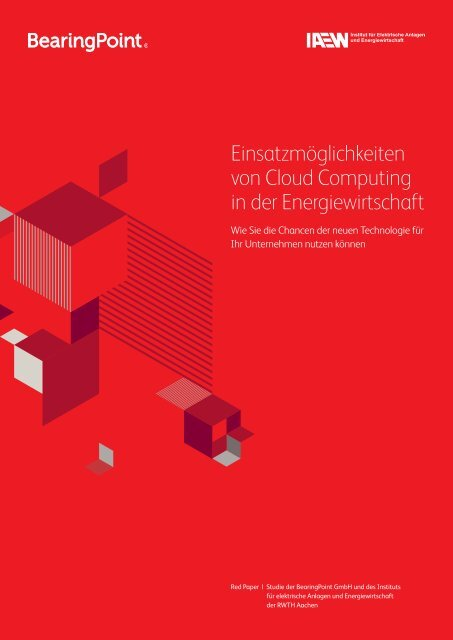 Cloud Computing wird der - BearingPoint ToolBox
