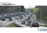 Roads and highways (pdf) - Cowi
