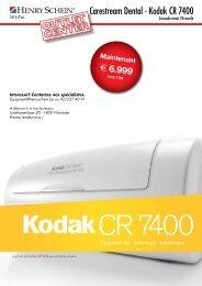Carestream Dental - Kodak CR 7400 - Henry Schein