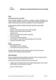 Europass dodatak svjedodžbi (vidi primjere), nije zamjena za ...