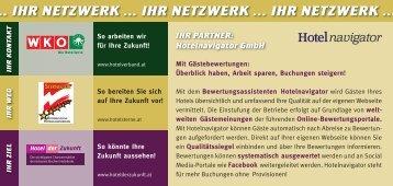 Hotelnavigator GmbH - Bewertungsassistent für ... - Hotel der Zukunft