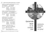 Gemeinde- Brief - Kirche-leingarten.de