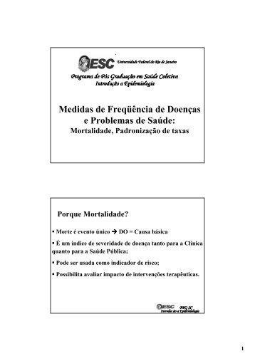 Medidas de Frequencia II - pdf - Instituto de Estudos em Saúde ...