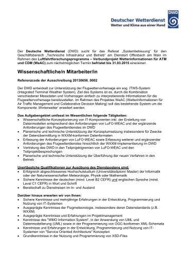 Weitere Informationen - TU Braunschweig CareerService