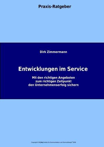 Entwicklungen im Service - [iks] Institut für Kommunikation und ...
