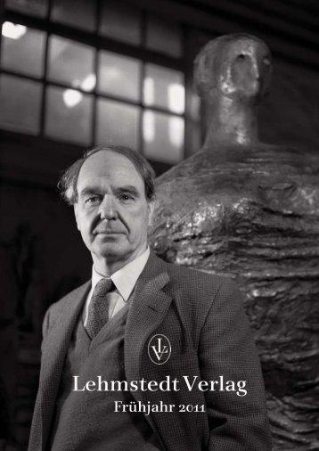 Lehmstedt Verlag, Frühjahr 2011, Katalog, Download als PDF, ca. 1 ...