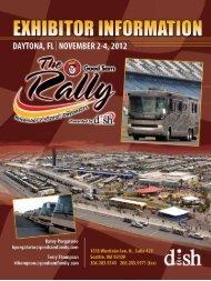 exhibitor information • daytona, fl - The Rally