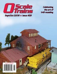 OScale Trains