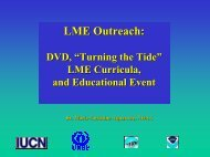 LME Outreach: - Large Marine Ecosystems of the World - NOAA
