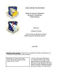 Radio Frequency Radiation - Dosimetry ... - StopTheCrime.net