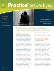 Domestic Violence and Human Trafficking - National Association of ...