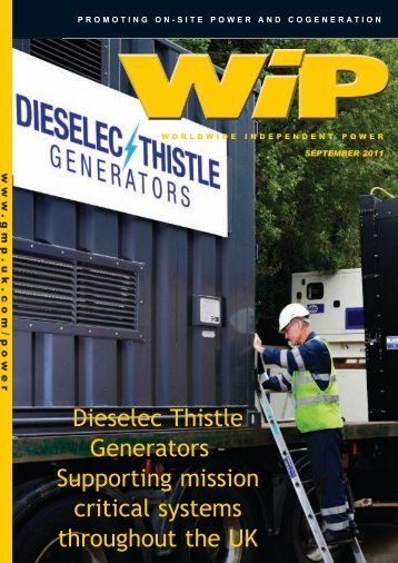 Dieselec Thistle Generators - Global Media Publishing Ltd. - Uk.com