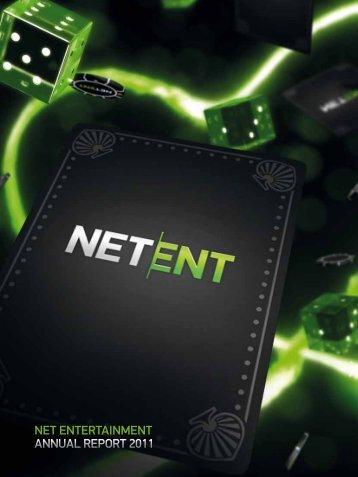 NET ENTERTAINMENT ANNUAL REPORT 2011