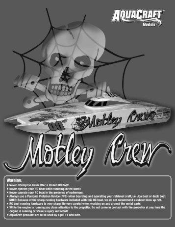 Motley Crew - HobbyTown USA