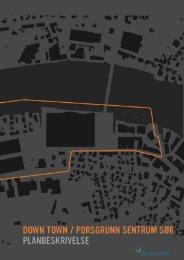 Planbeskrivelse - Porsgrunn Kommune