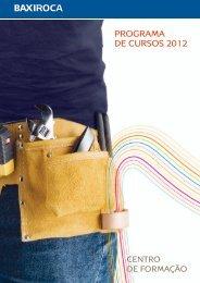 PROGRAMA DE CURSOS 20 12