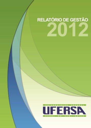 RELATORIO GESTAO 2012.pdf - Ufersa