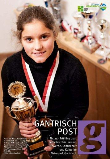 Nr. 24, Frühling 2011 (PDF, 7.8 MB) - Gantrischpost