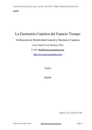 la geometria cuantica del E.T..pdf - Cosmofisica