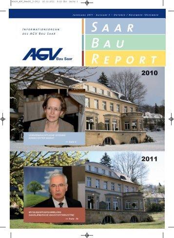 Ausgabe 05/2011 - AGV Bau Saar