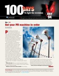 Get your PR machine in order Do - Questex Media