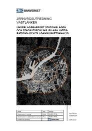 JÄRNVÄGSUTREDNING VÄSTLÄNKEN - Spacescape