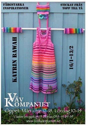 Färgstarka Inspirationer - Katrin Bawah