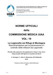 Legionella - UIAA