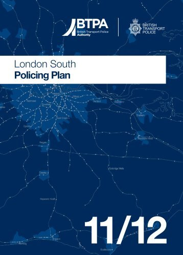 London South Policing Plan - British Transport Police Authority