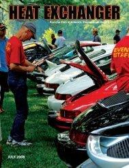 JULY 2008 - Shenandoah Region Porsche Club of America