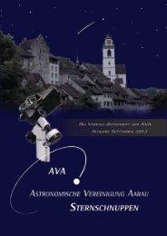 Sternschuppen-Ausgabe September 2012 - Astronomische ...