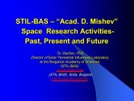STIL-BAS - Space Radiation Investigation Group