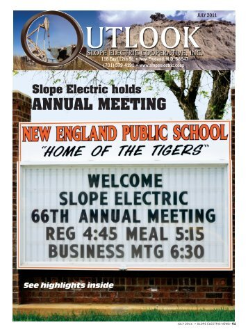 July - Slope Electric Cooperative