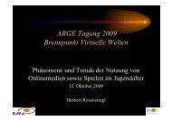 Vortrag Herbert Rosenstingl - Österreichische ARGE ...