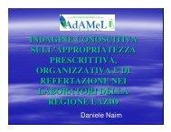 relazione dott. Naim