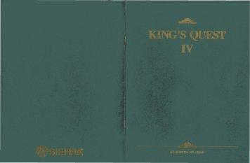 Kings Quest IV Manual (PDF) - Virtual Apple